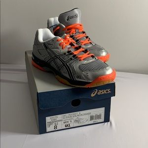 Asics Gel Rocket 6 New with Tags Size 8